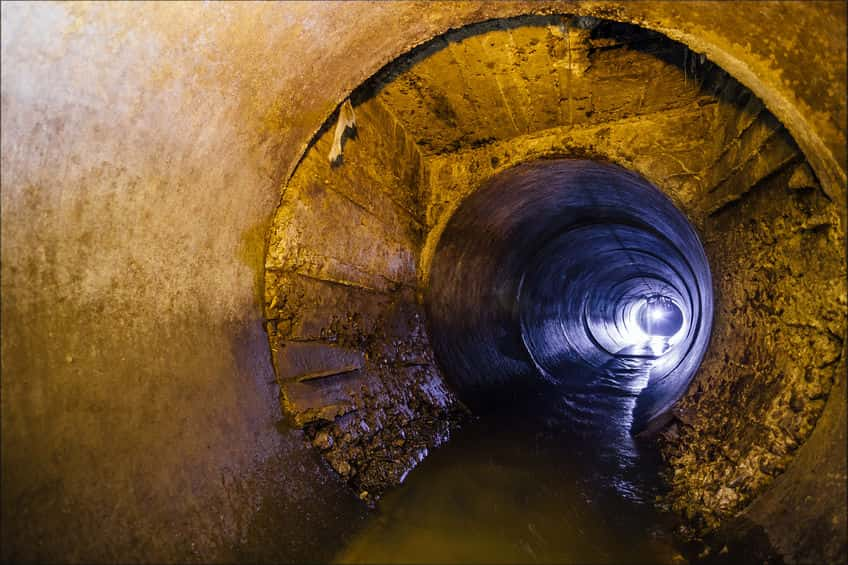 sewer line repair in New Port Richey, FL